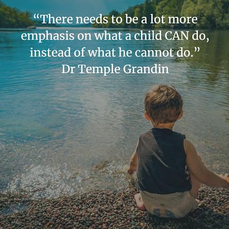 Dr Temple Grandin Quote