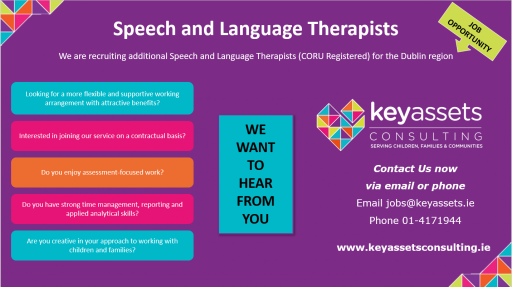 Speech and Language Therapist Job Opportunity